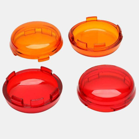 Turn signal/brake replacement lens - Bullet style (Amber)