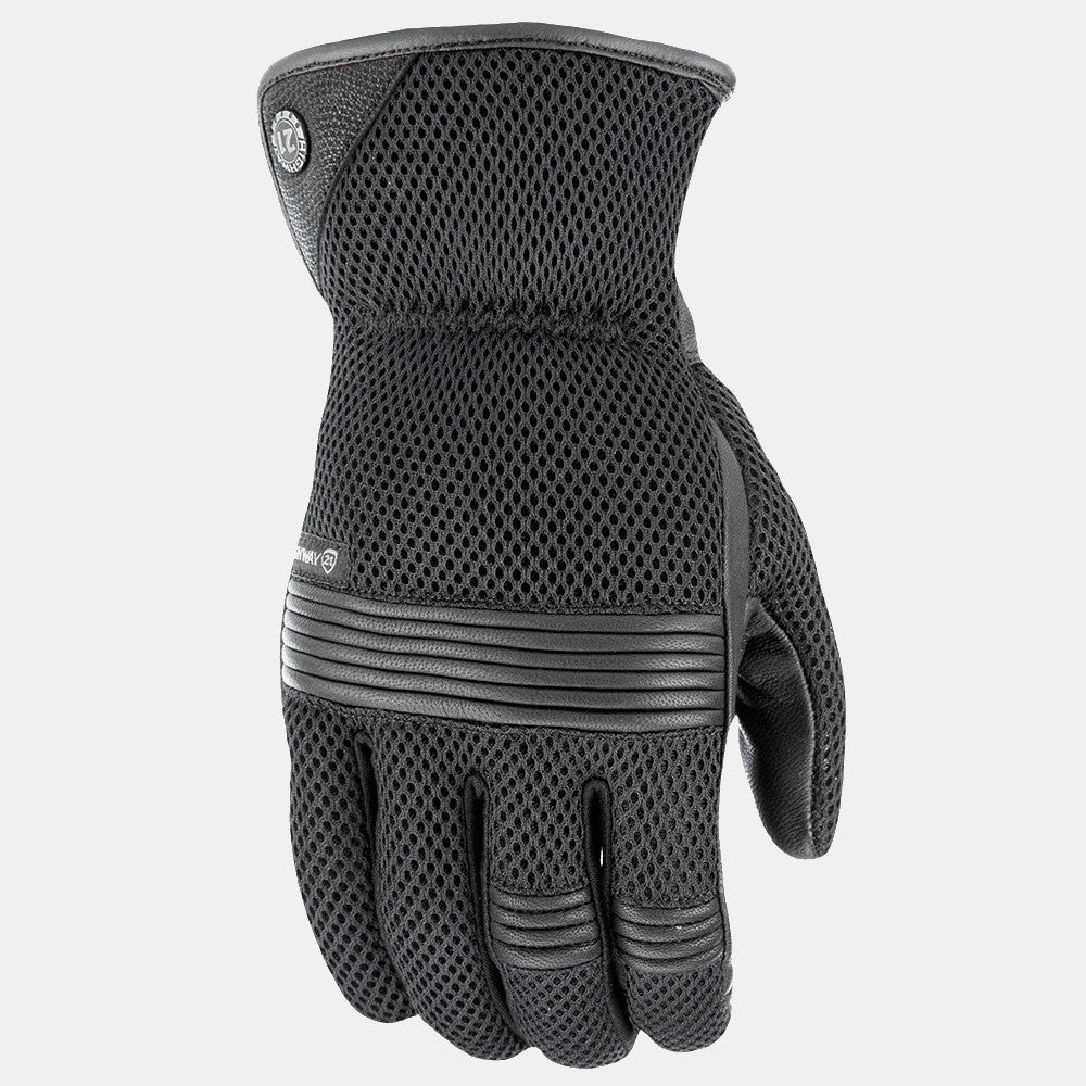 Highway 21 Turbine Mesh Gloves - Black