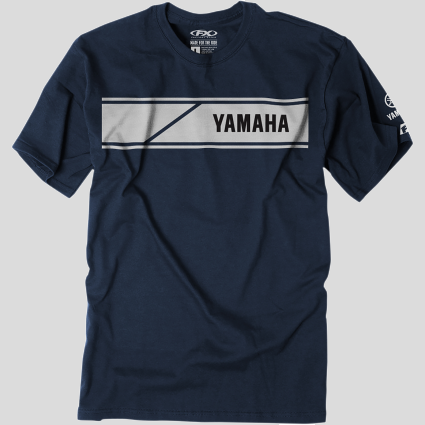 Yamaha Speed Block T-Shirt - Navy