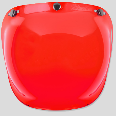 Biltwell Bubble Shield - Red
