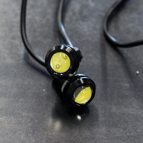 Round LED indicators