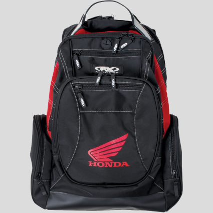 Honda motorcycle backpack