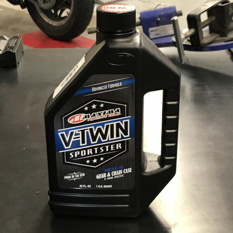 Maxima V-Twin Sportster Gear and Chain Case Oil
