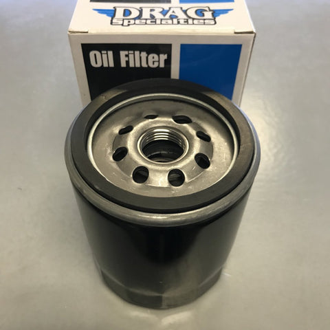 Drag Specialties Oil Filter w/Nut - Harley Davidson Twin Cam