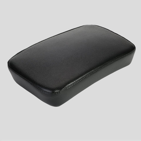 Leather Pillion Pad w/ 6 Suction Cup Rear Passenger Seat