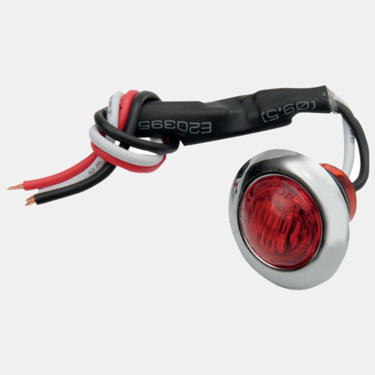 Mini LED Tail Light - Red Lens