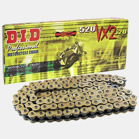 DID Chain 520VX2 x 120 Gold