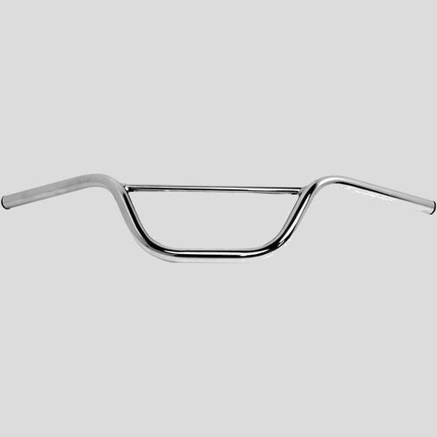 Handle Bar,  Scrambler, Small,  Chrome 7/8""