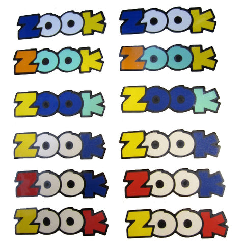 Honda Zook Decals - Pair
