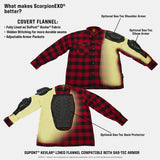 Scorpion Covert Riding Flannel - Tan/Brown