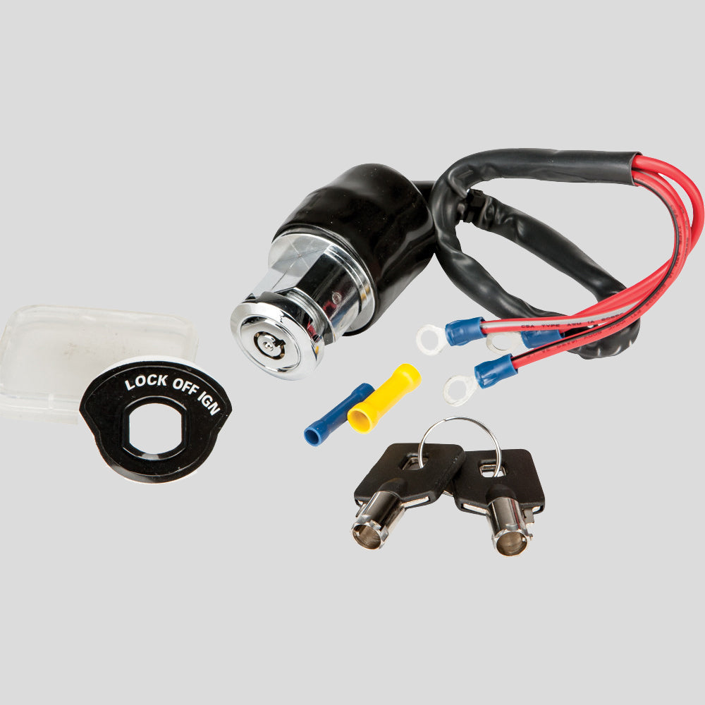 Ignition Switch, 3 Position - Round