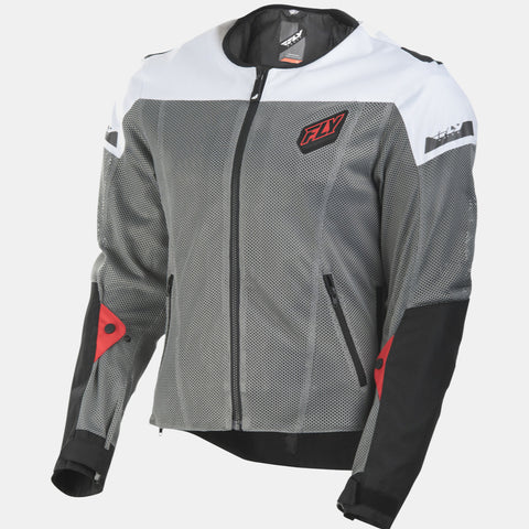Fly Racing Flux Air Mesh Jacket - Gray