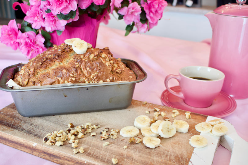 Cozy up with Coffee and Banana Bread