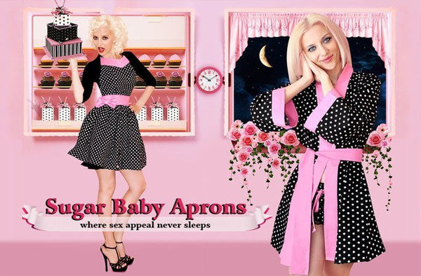 Sugar baby Apron (Party Girl Pink)