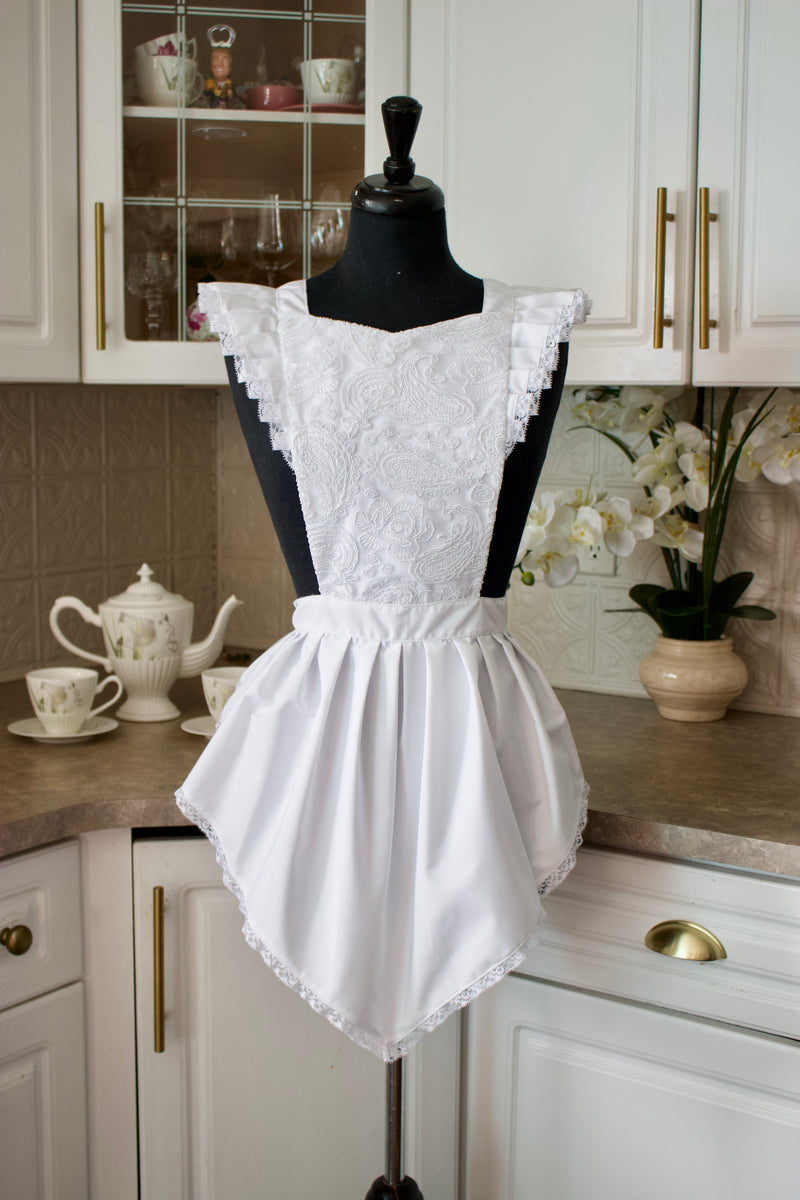 Women's Blushing Bridal Party Apron
