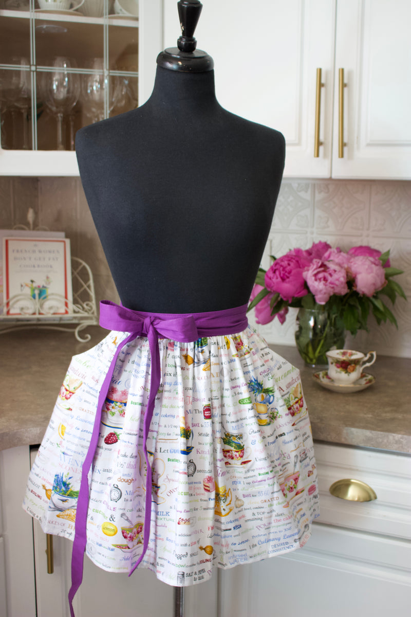 Tea Party Apron