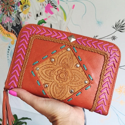 We LOVE Hand Tooled Leather