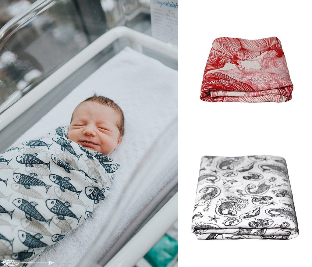 muslin cotton baby wraps