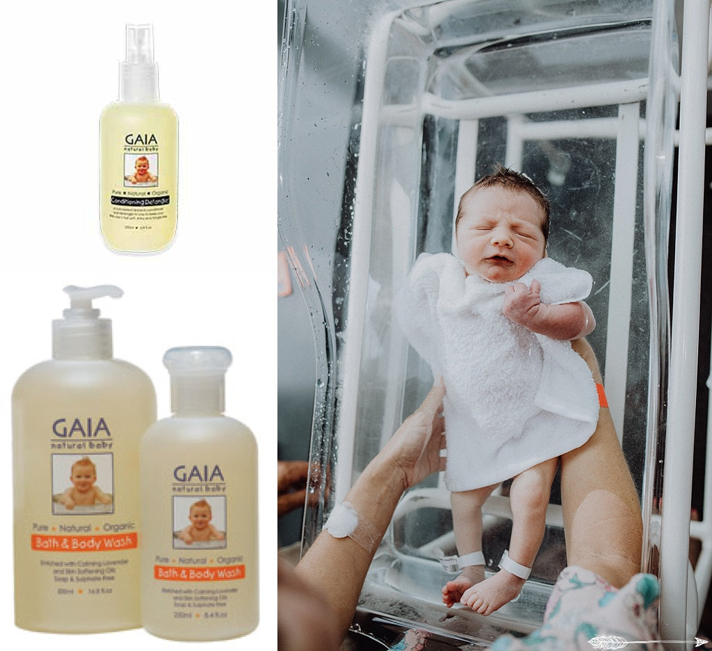 all natural baby bath products