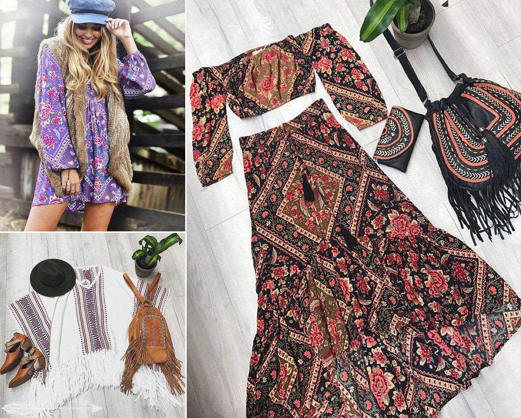 bohemian festival fashion looks