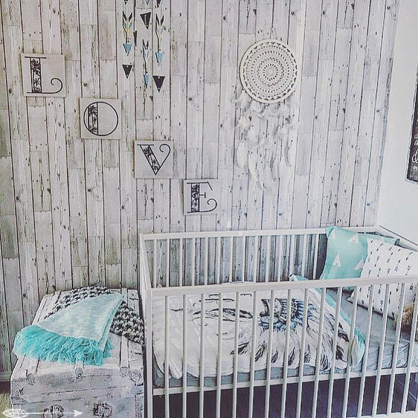 boho chic nursery ideas