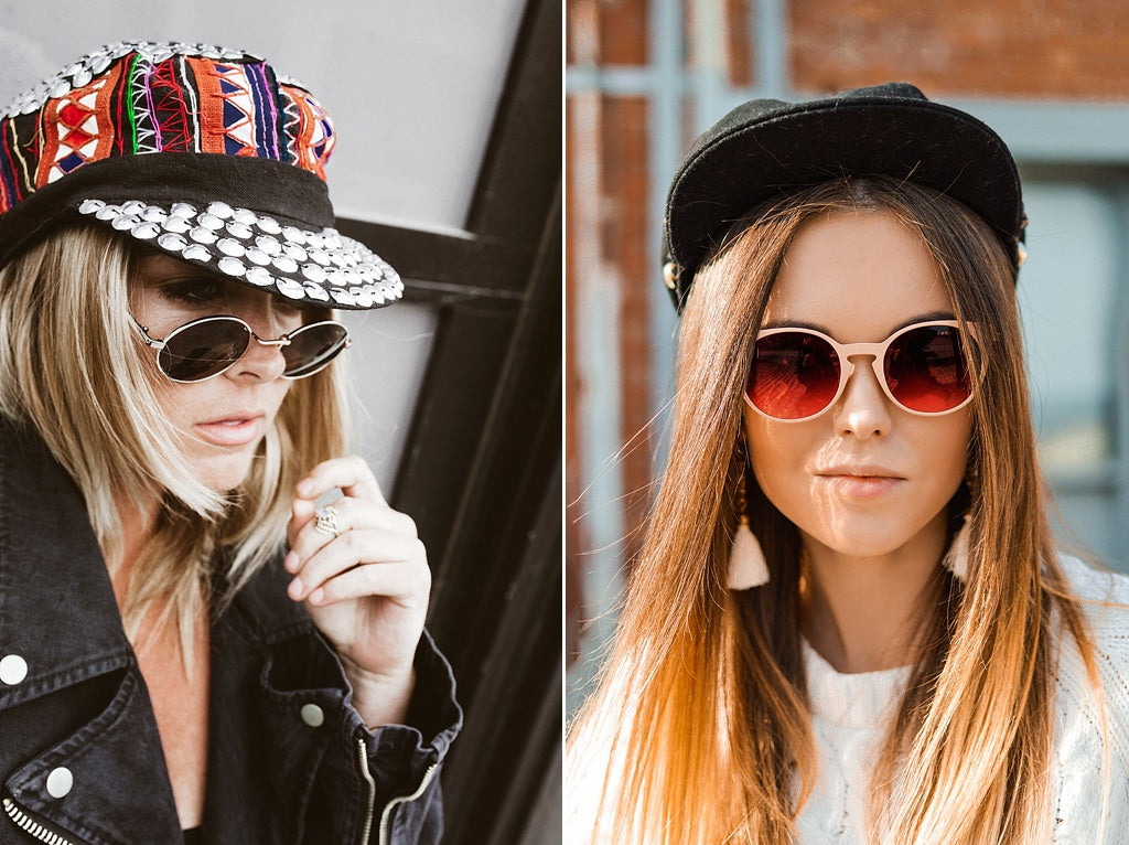 festival style hats
