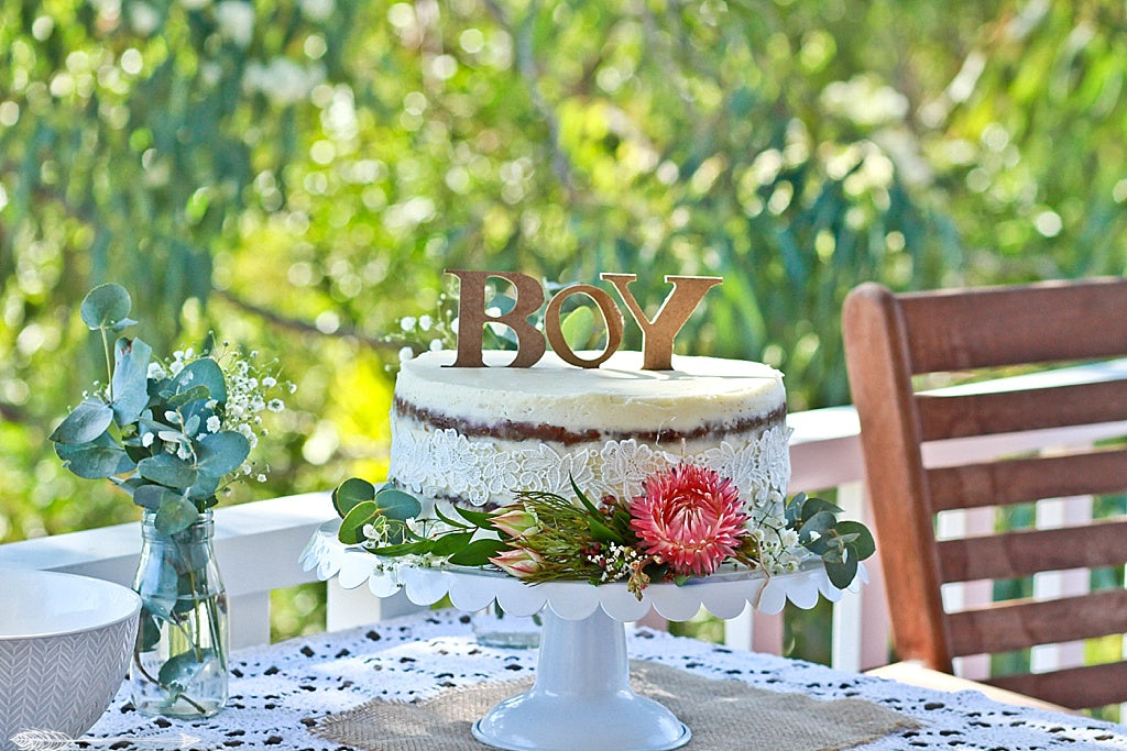 boho boy baby shower
