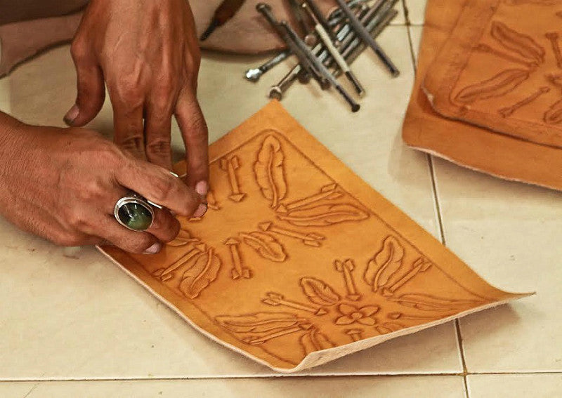 mahiya hand tooled leather