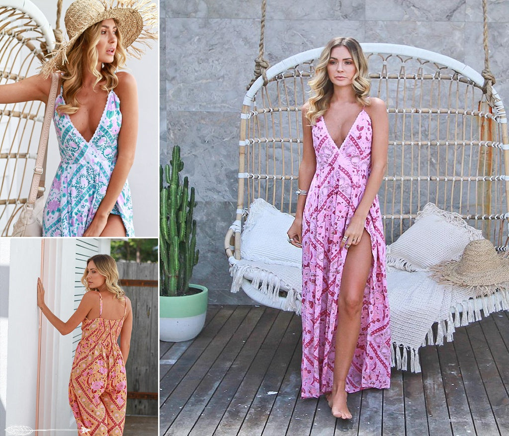 bohemian playsuits