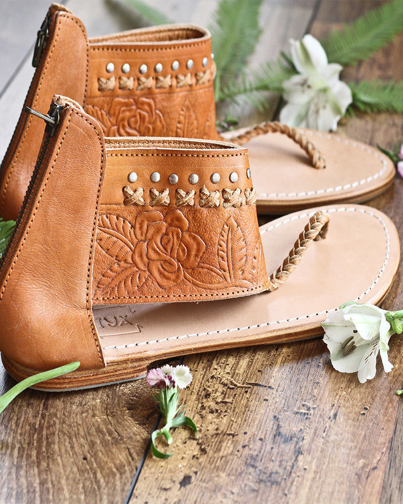 Mahiya LOVES hand tooled leather - 15