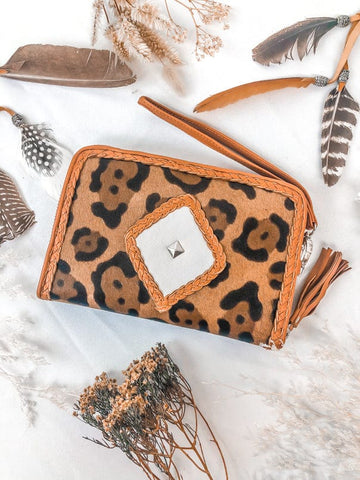 Ophelia Bag & Sahara Wallet Set - Tan