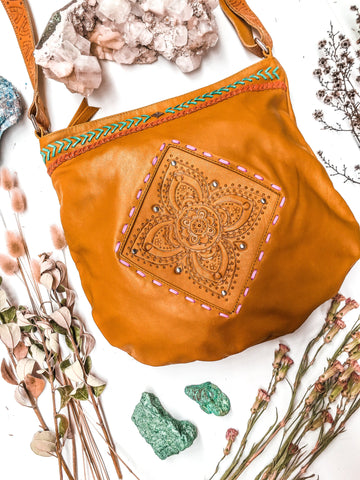 Shimla Phone Pouch - Tan