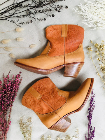 Selina Leather Boots