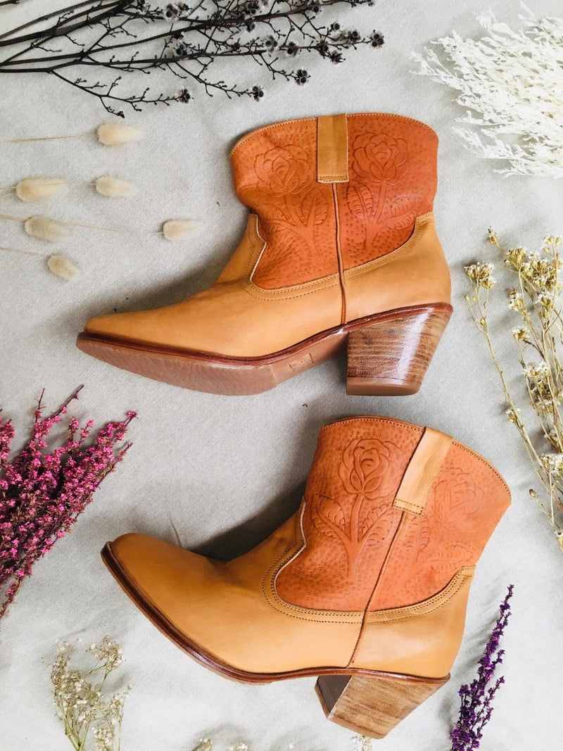 Lonestar Leather Boots - Two Tone