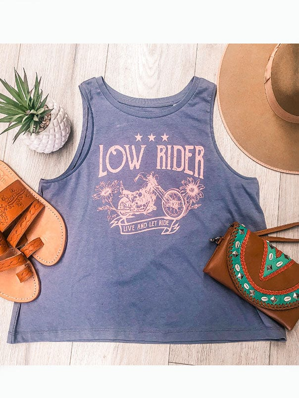 Low Rider Organic Tank - Dusty Pink