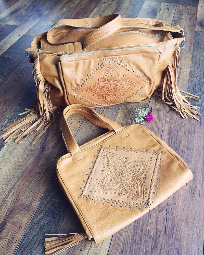 bohemian chic diaper bag