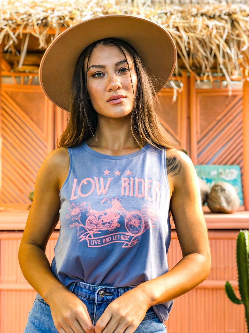 Low Rider Organic Tank - Smokey Grey