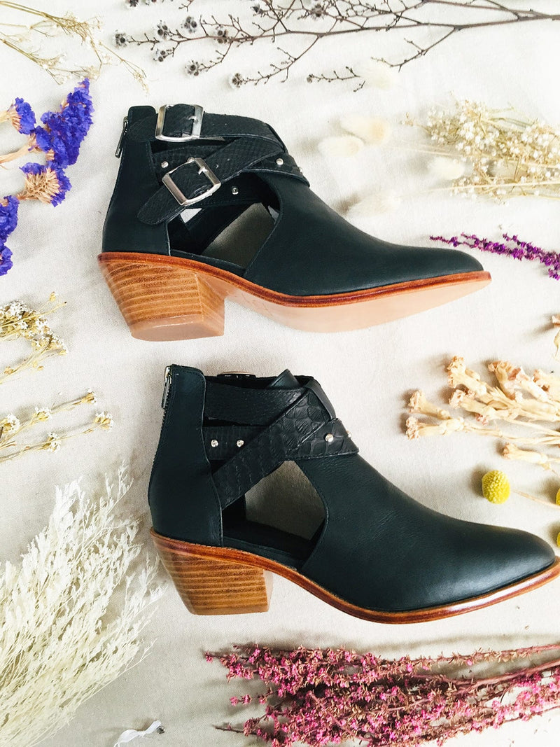 Dreamer Leather Boots - Limited Edition Black