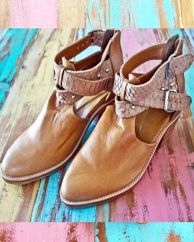 Dreamer Leather Boots