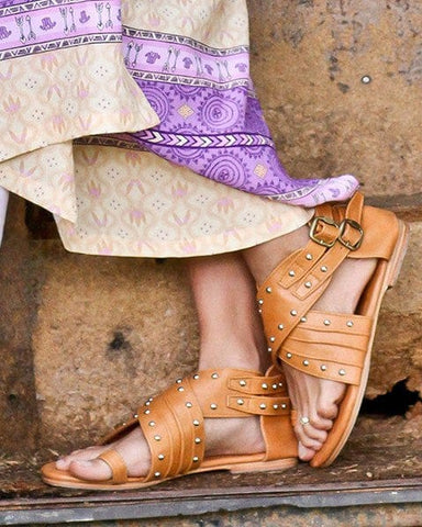 Chico Leather Sandals
