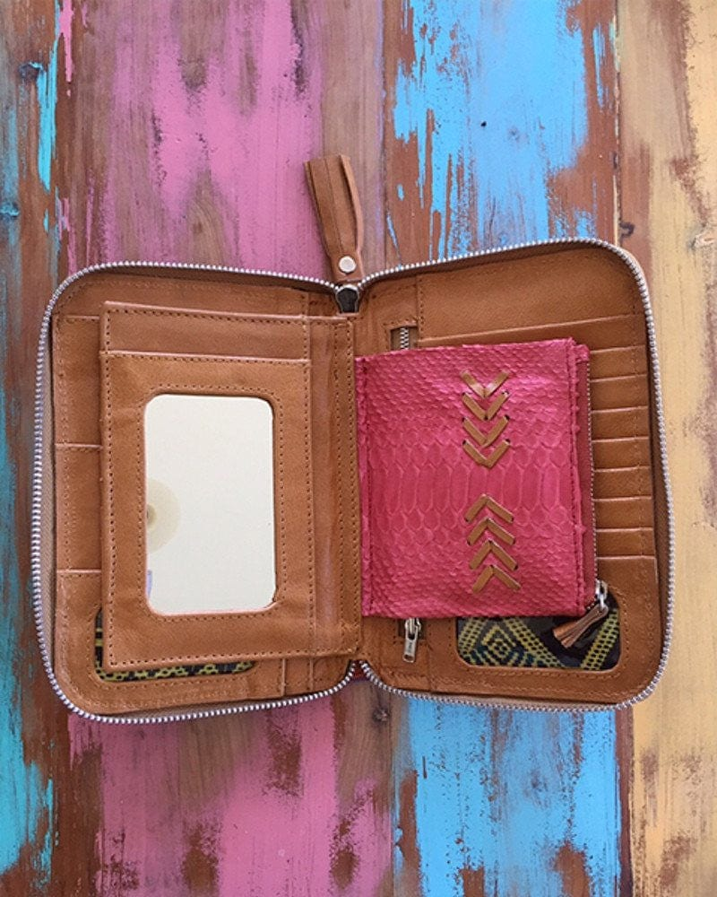 cool leather wallets australia