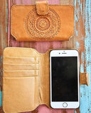 Mahiya Mandala iPhone 5 Leather Case inside