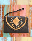 bohemian black leather accessories