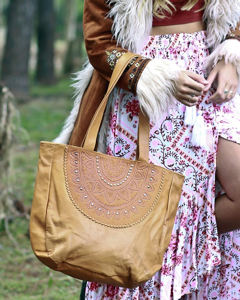 tan leather tote bag australia