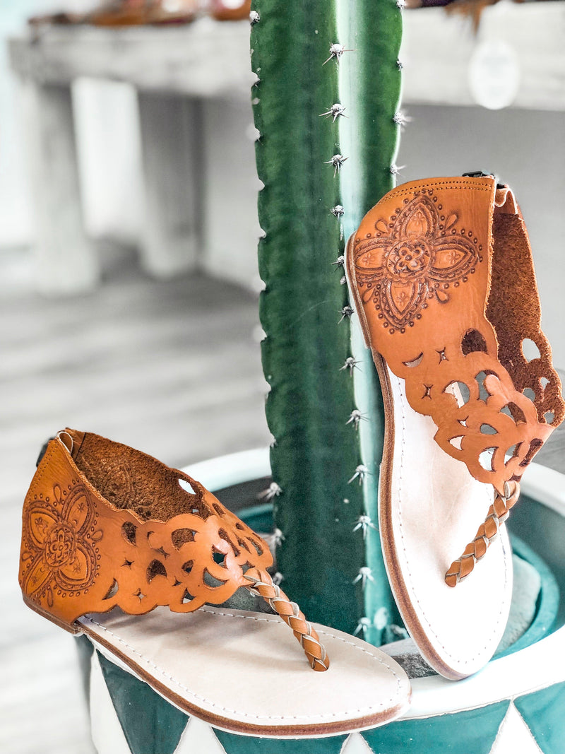 Freedom Leather Sandals