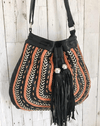 Dream Weaver Bag & Ellki Wallet Set - Black (Fringe Free)