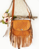 rose leather bag