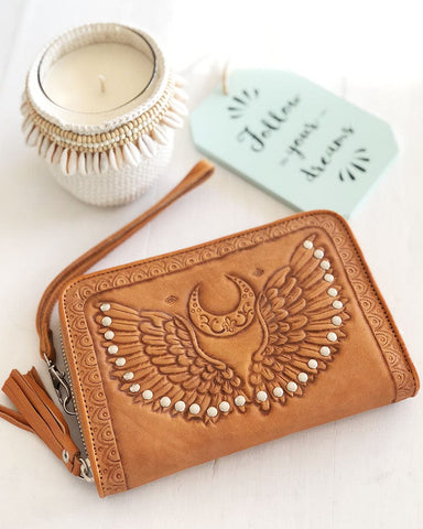 Drifter Wallet - Cream