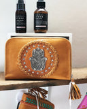 bohemian leather womens wallet