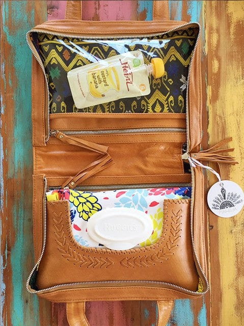 bohemian nappy bags and organiser
